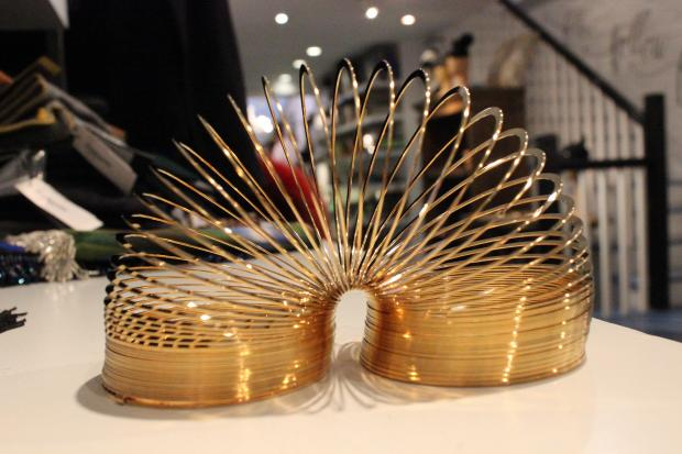Gold-plated Slinky