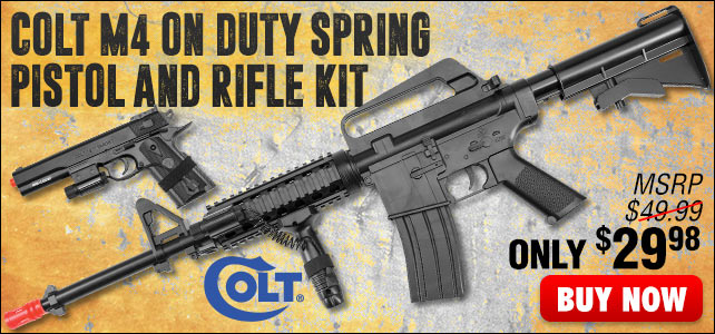 Colt M4 On Duty Kit Spring Pistol and Rifle