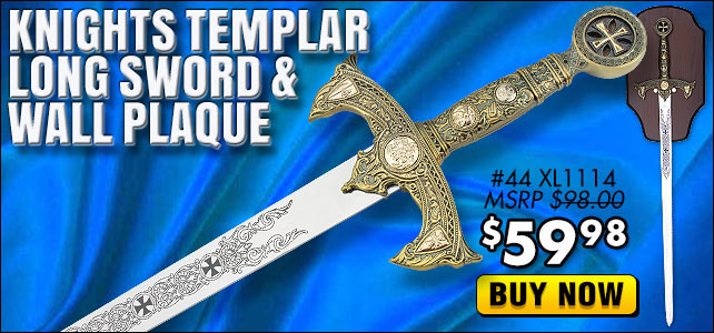 Knights Templar Long Sword