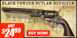 Black Powder Outlaw Revolver Replica