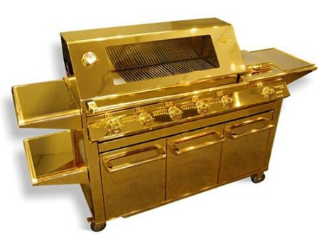 Gold-plated Grill